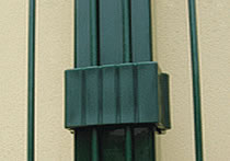 PVC Coated Tubular Posts